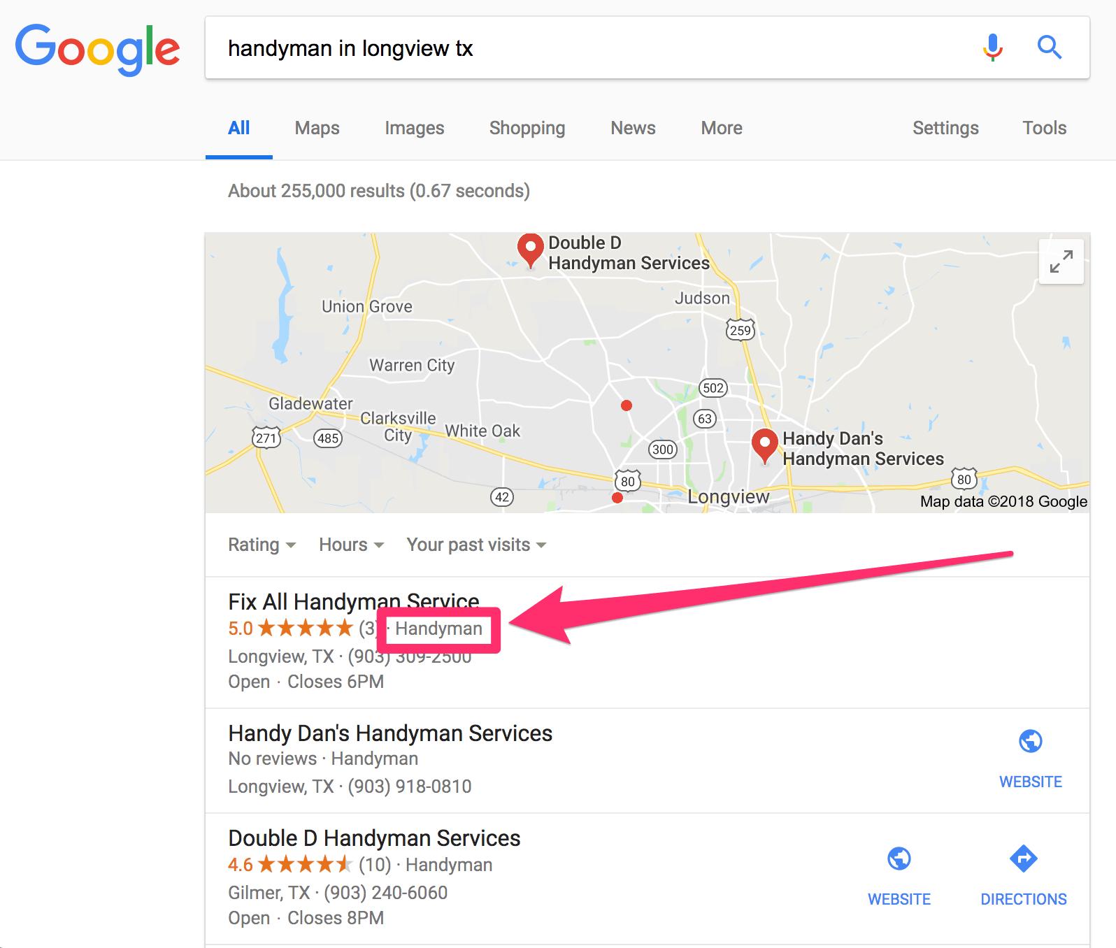 handyman in longview tx google search