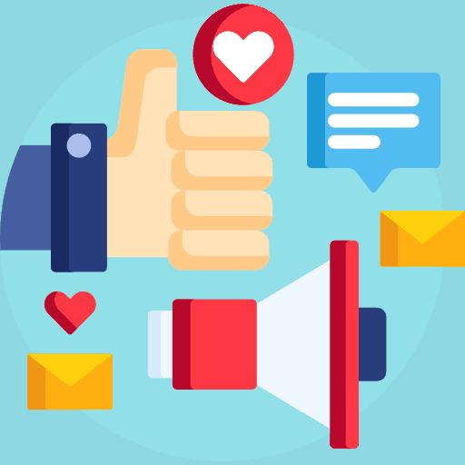social media integration with handyman website