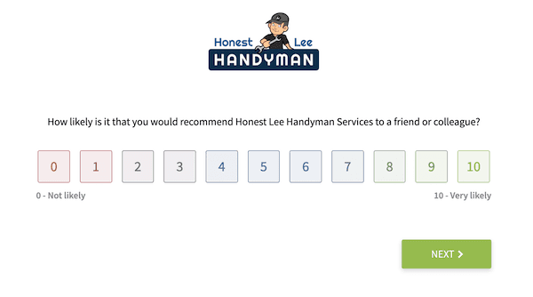 review generating system for handyman seo