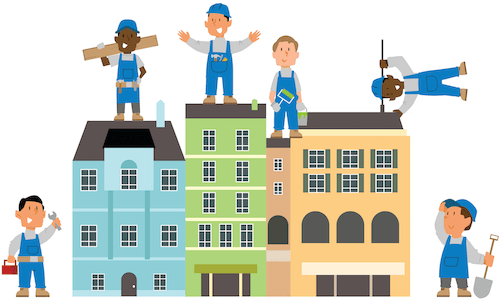 handyman web design, marketing and SEO mobile hero